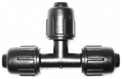 814 típ. T idom 16×16×16 mm TOK-TOK-TOK LPE