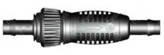 In-line szűrő 25 mm-es LPE csőhöz, 3/4-es slaghoz