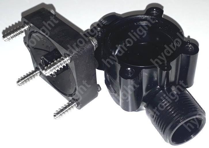 Hunter PGV-101 mágnesszelep test (alsó+felső rész)