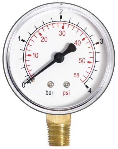 Nyomásmérő (manométer) 0-6 bar