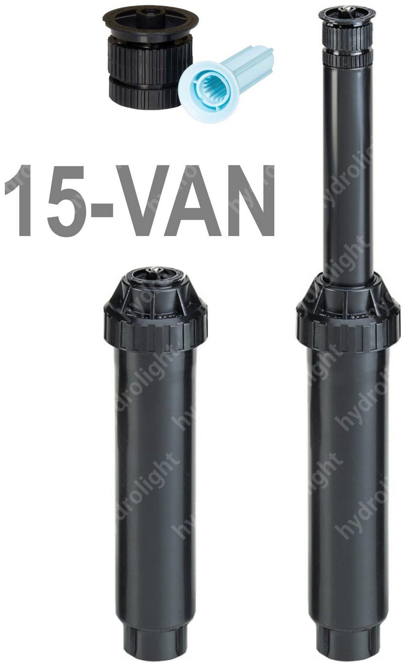 UNI-SPRAY szórófej 10 cm + 15 VAN fúvóka, R=4.5 m