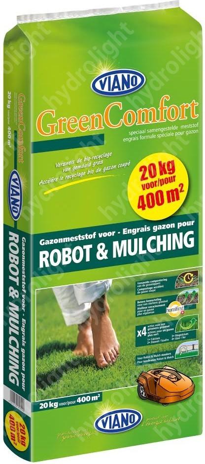 VIANO szerves gyeptáp ROBOT-MULCHING, 20 kg