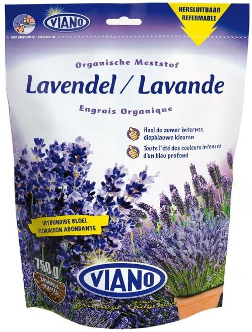 VIANO BIO szerves növénytáp LEVENDULA, 0,75 kg