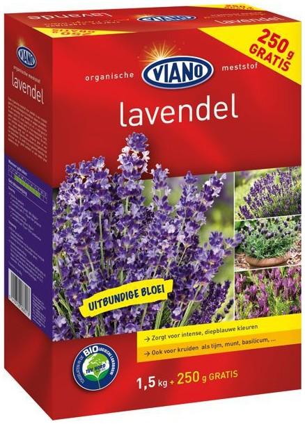 VIANO BIO szerves növénytáp LEVENDULA, 1,75 kg