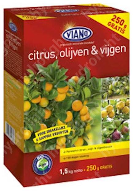 VIANO szerves növénytáp MEDITERRÁN, 1,75 kg