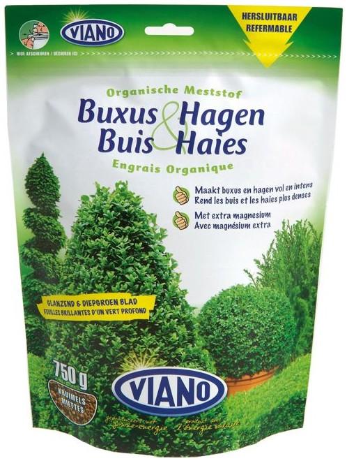 VIANO szerves növénytáp ÖRÖKZÖLD ÉS BUXUS, 0,75 kg