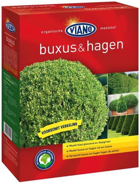 VIANO szerves növénytáp ÖRÖKZÖLD ÉS BUXUS, 1,75 kg