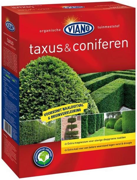 VIANO szerves növénytáp ÖRÖKZÖLD ÉS TISZAFA, 4 kg