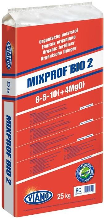 VIANO szerves táp MIXPROF BIO2 6-5-10, 25 kg