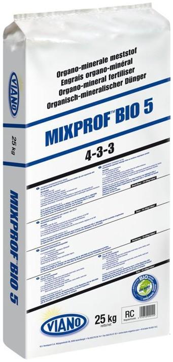 VIANO szerves táp MIXPROF BIO5 4-3-3, 25 kg